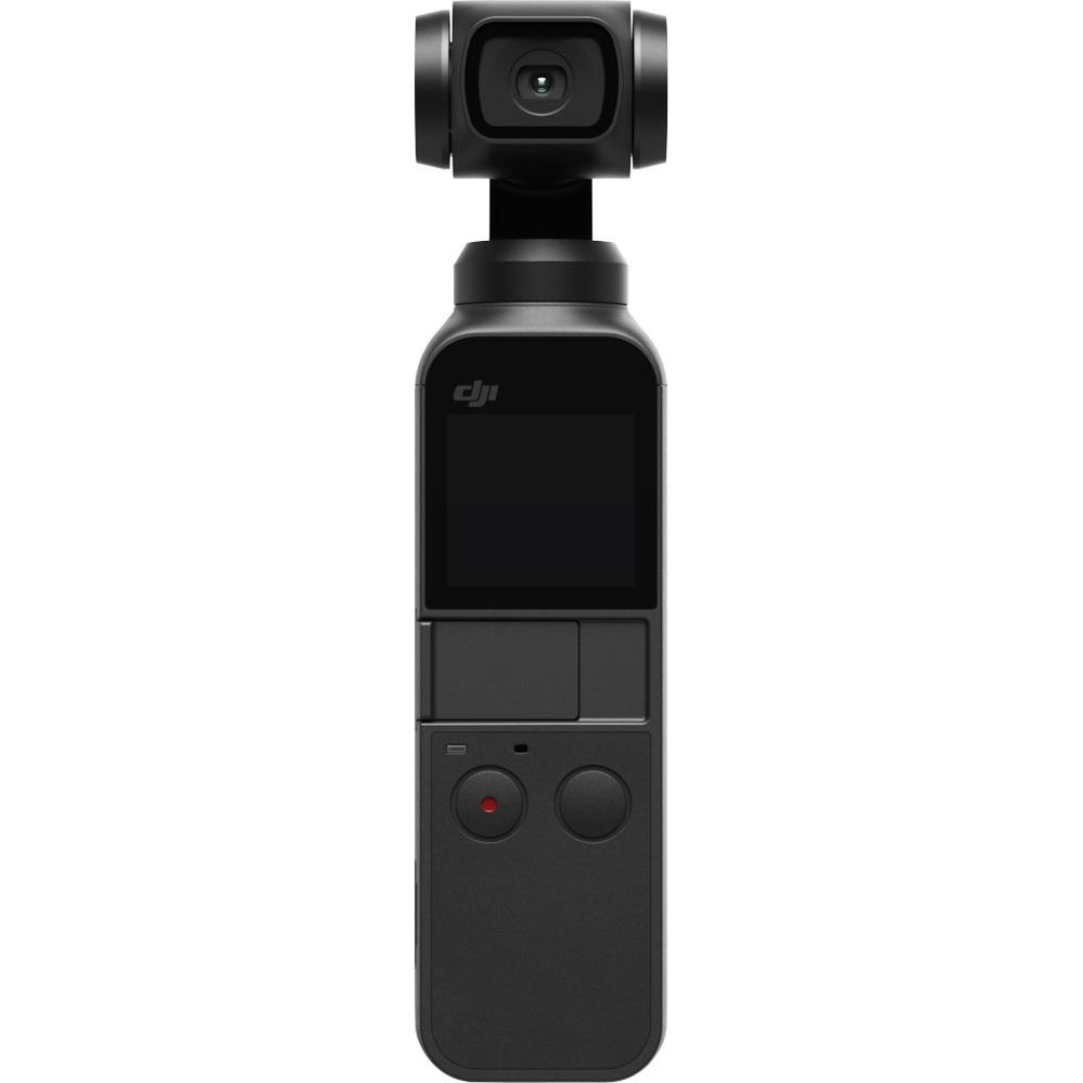 Camera video sport DJI Osmo Pocket, stabilizare gimbal, negru
