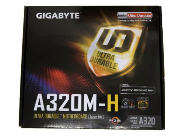 Placa de baza GIGABYTE A320M-H, DDR4, AMD A320, mATX - photo 4